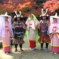 歴史上の人物に七変化!